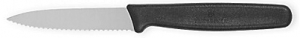 Serrated blade paring knife