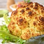 Beautiful and Nutritious Whole Roasted Cauliflower Recipe