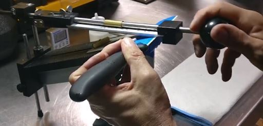 sharpening ceramic knife