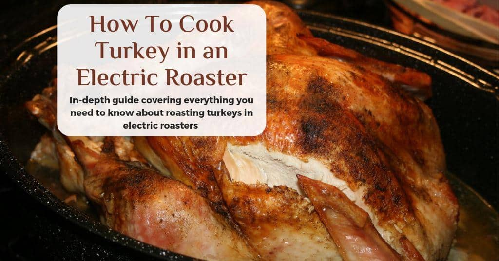 how to cook turkey in an electric roaster