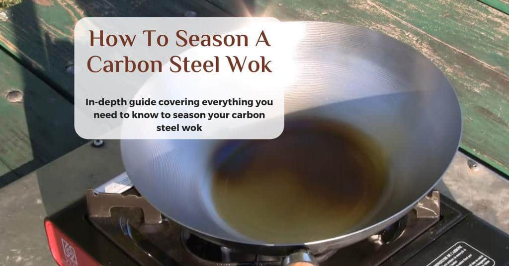 how to reseason a wok
