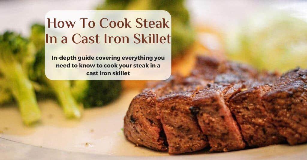 cast-iron steak recipe