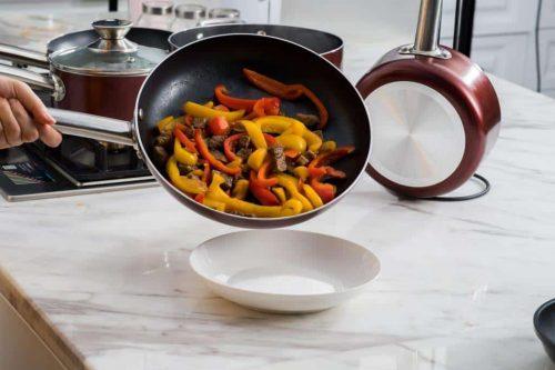 ceramic pots and pans