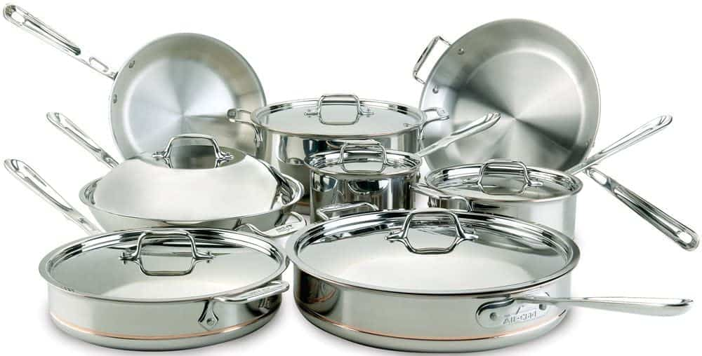 all clad copper core cookware set review