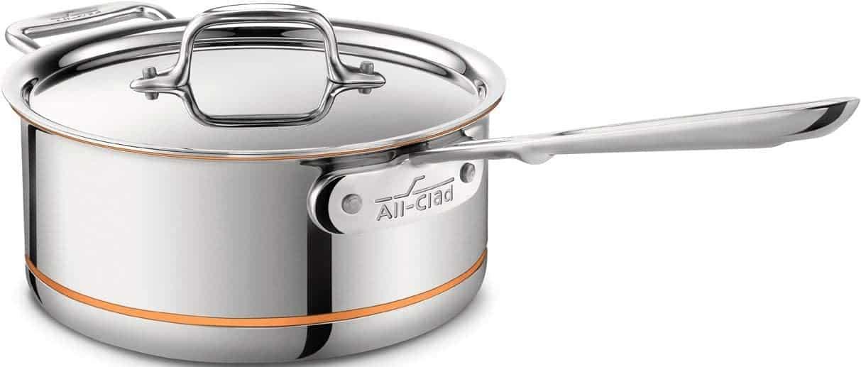 all clad copper core saucepan review
